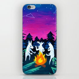 Campfire Howlers iPhone Skin