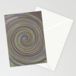 VERTIGO BROWN Stationery Cards