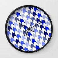 arrows Wall Clocks featuring arrows by haroulita