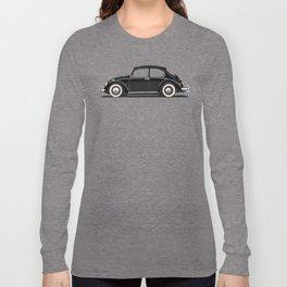 Legendary Classic Black Bug Vintage Retro Cool German Car Wall Art and T-Shirts Long Sleeve T-shirt
