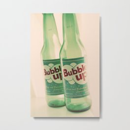 bubble up Metal Print