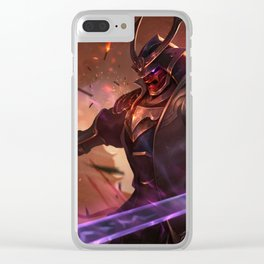 Warlord Shen League of Legends Clear iPhone Case