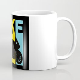 Motorbike Motorcyclist Bike Machine Biker Coffee Mug