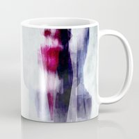kiss Mugs featuring Kiss by SensualPatterns