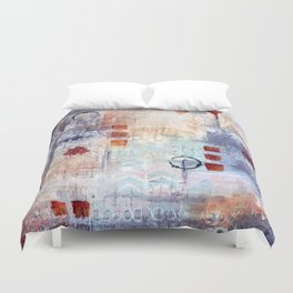 abstract collective: lazy dayz Duvet Cover