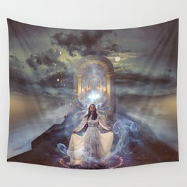 Hostage to the Light Wall Tapestry