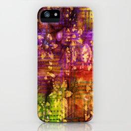 Fabric II iPhone Case
