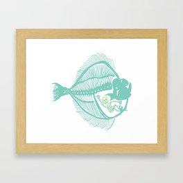 Fish are Friends Framed Art Print