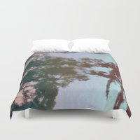 dreams Duvet Covers featuring Dreams by Jane Lacey Smith
