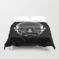 cook Duvet Covers featuring The Cook by Azafran