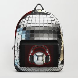 Headphone disco ball Backpack