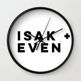 ISAK + EVEN - SKAM Wall Clock