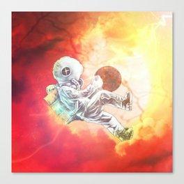 Astrona~uterus Canvas Print