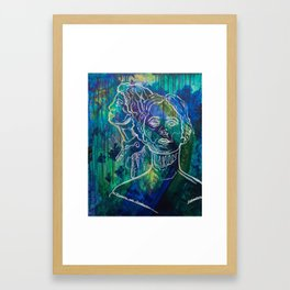 Eleanora and Isadora Entranced Framed Art Print