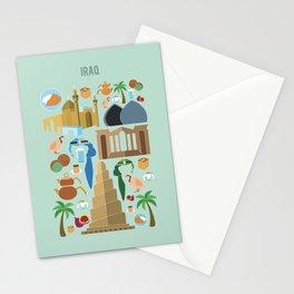 Iraq Illustration Stationery Cards