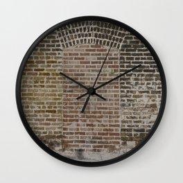 Bricked Doorway Wall Clock