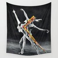 ballet Wall Tapestries featuring Ballet by Ben Giles