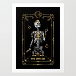 The Empress III Tarot Card Art Print