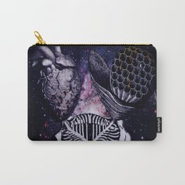 Honeycomb Heart Carry-All Pouch