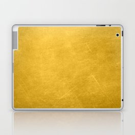 Sunshine Gold Laptop & iPad Skin