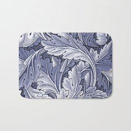 Acanthus Nouveau Style in Blue Bath Mat