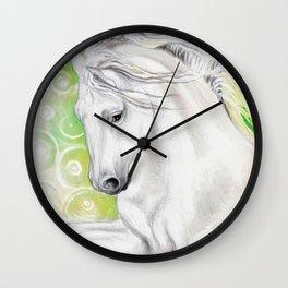 Andalusian Green Wall Clock
