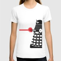 mad men T-shirts featuring Dalek, Mad Men Style by Mosobot64