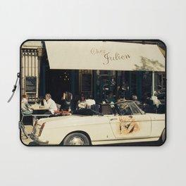 Chez Julien Travel Photo - Paris France Cafe - Traditional French Bistro Laptop Sleeve