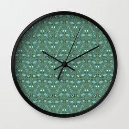 Fairy Foliage Wall Clock