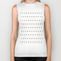 bees Biker Tanks featuring BEES, BEES everywhere by Roxanne Bee