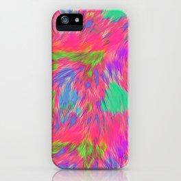 Sherbet Faux Fur iPhone Case