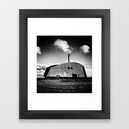 Viborg Power Station Framed Art Print