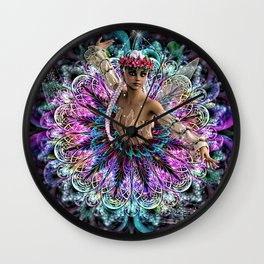 BALLERINA FAIRY Wall Clock