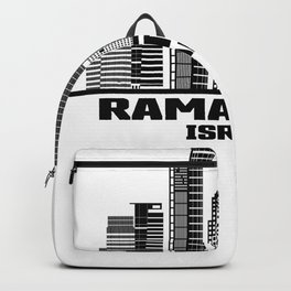 Ramat Gan Israel Skyline Backpack