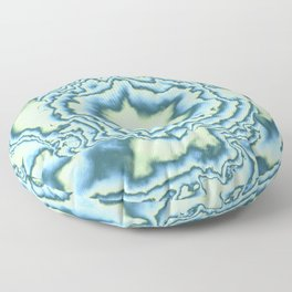 Turbulence in MWY 03 Floor Pillow