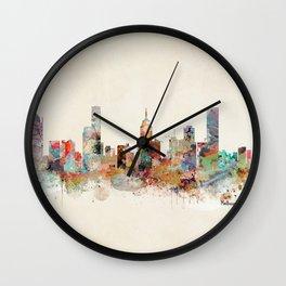melbourne australia Wall Clock