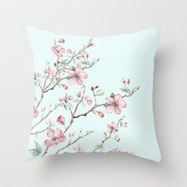 Apple Blossom #society6 #buyart Throw Pillow
