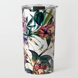 Bloom colorful garden vintage Travel Mug