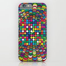 Focus Geometric Art Print. iPhone 6s Slim Case