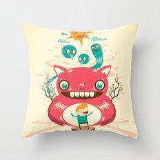Imaginary Friends Throw Pillow