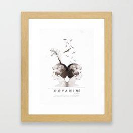 Dopamine   Collage Framed Art Print