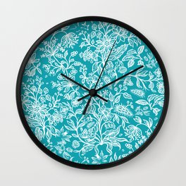 Decorative flowers 29 Wall Clock
