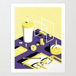 Chillin - 1 Art Print