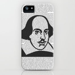 Words of Shakespeare iPhone Case