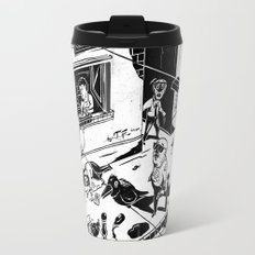 Pipien Molestus in the city Travel Mug