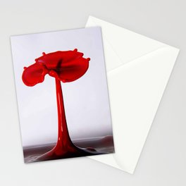 water poppy Stationery Cards