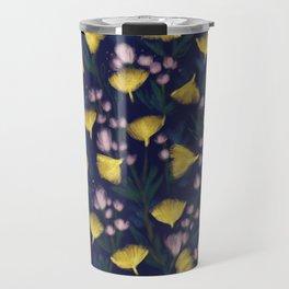 Ginkgo Blossoms Travel Mug