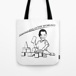 LOOK MOM I'M THE KING OF THE WORLD!!! Tote Bag