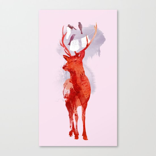 Useless Deer Canvas Print