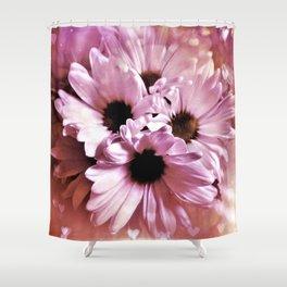 Love Those Daisies Shower Curtain